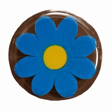 Thermoformed blister sheet Blue Daisies
