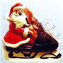 4010b Santa on skidoo