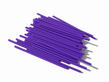 p412od Orchid lollipop sticks