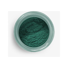 hs25033 hybrid sparkle dust emerald green