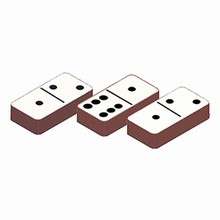 Dominos transfer sheets