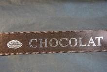 rc92 ruban chocolat brun-argent