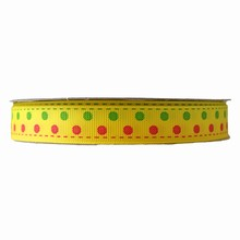 RB27 ribbon grosgrain yellow