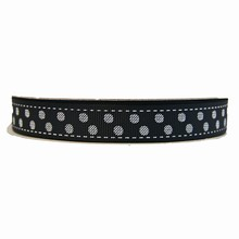 RB28 ribbon grosgrain black