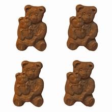 A142 Teddy Bear mold