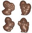 art15864 Ducks Chocolate Mold