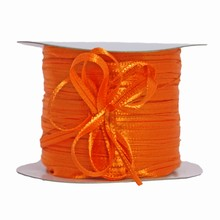 r638 Orange pull bow ribbon