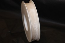 Ruban blanc uni 15mm