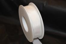 Ruban blanc uni 25mm