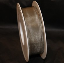 Taupe colored ribbon