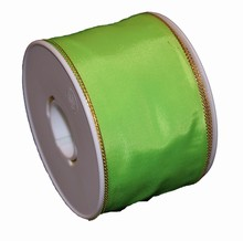 Lime green colored ribbon