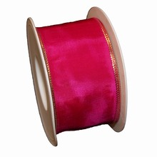 Fuschia colored ribbon