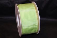 Neon green colored ribbon