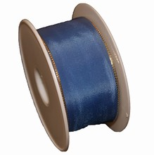Steel blue colored ribbon