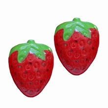 Thermoformed blister sheets 2D strawberries