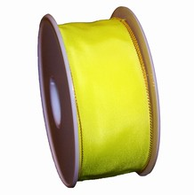 rs47 Ruban jaune néon uni 40mm
