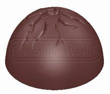 cw1732 moule chocolat demi-sphère craquelé