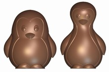 art15925 chocolate mold Penguins