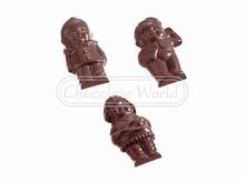 CW1071 Moule Double Chocolat Bonhommes