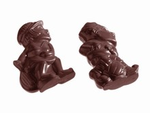 CW1181 Chocolate Sports Characters Mold