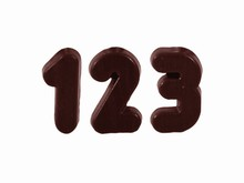 CW1424 Chocolate Numbers Mold