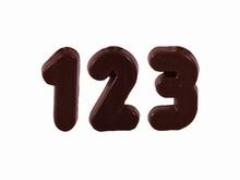 CW1424 Moule Chocolat Chiffres