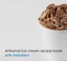 L254 Artisanal Ice Cream Recipe Book English and Spanish Version