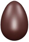 art59B moule chocolat oeuf lisse