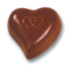 art6182 Chocolate heart mold