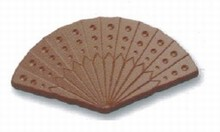 art12594 Fan chocolate mold