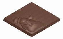 art16033 Moule chocolat tablette bonhomme de neige