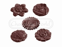 CW2140 Chocolate Mold Flowers
