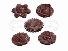 CW2140 Moule Chocolat Fleurs