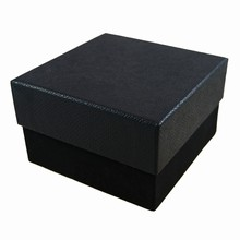 9267D2 Rigid 2 tiered Ebony box