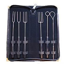 Travel Case Dipping Forks Kit B