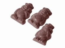 CW1518 Chocolate Mold Bears