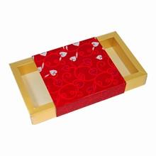 Boîte rect. bande décorative St-Valentin
