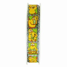 r111 Yellow and Green Clothilde Ribbon 5/8in