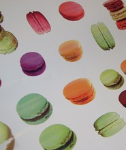 Macaron Cookies Wrapping Paper