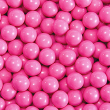 candy coated choc. hot pink