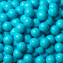 candy coated choc light blue