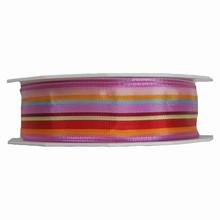 r145 Ruban strié couleurs d'été