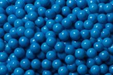 Sixlets décor chocolaté bleu