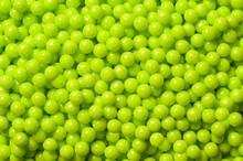 Perles de sucre décoratives vert lime
