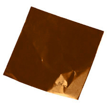 Dull Brown Confectionery Foil 6x6
