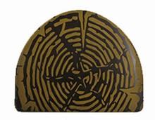 Plaque Thermoformée embout de bûche or