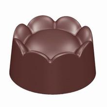 CW1728 Chocolate Mold Ridged Base