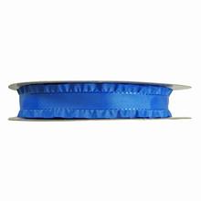 Royal blue ruffled ribbon 1in