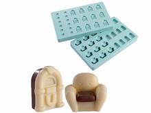 MA4002 fauteuil et jukebox moule chocolat