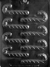 C442 Christmas Candy Cane Mold